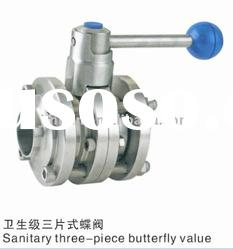Milk machinery processing machine valves