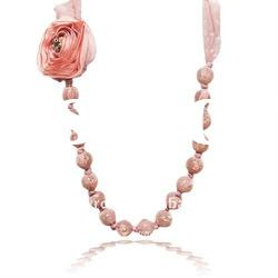 Pink Coral Rose Beads
