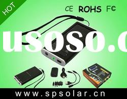 Portable Handy LED Solar Panel Battery Charger With LED Light