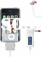 Radio remote with auto scanning for iPhone 3G & iPod ,accessories for ipod & iphone