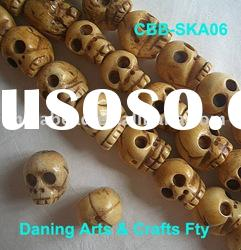 Wholesale bone bead jewelry bead shell bead stone bead carved bead skull bead