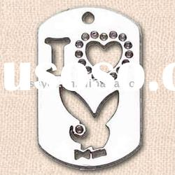 dog Tag & metal dog tag, hip hop dog tag, Tag