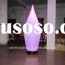 party decoration inflatable cone with LED lights