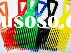 plastic comb, hair comb, hairbrush, plastic color comb, promotion comb, professional comb