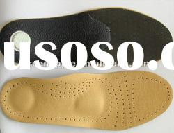shock absorption orthotic arch support leather shoes insole