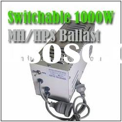 1000 watt HPS/MH Switchable for Hydroppnics grow lights