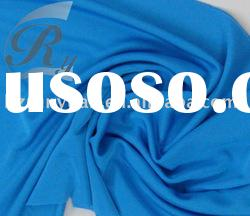 100% double silk jersey fabric