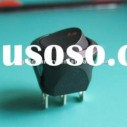 10A 250V 20mm UL VDE momentary round rocker switch