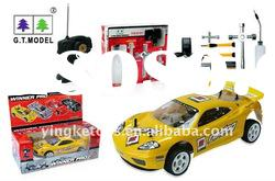 2011 hot sales 1:10 car rc gas with tools