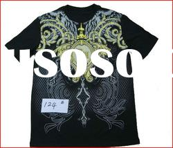 2012 Wholesale Cheap t shirts for men, 100% Cotton Plain t-shirts