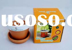 3 Inch Terracotta Flower Planting Pot(001012),Garden Pot,Flower Pot,Mini Pot,Flower Planter