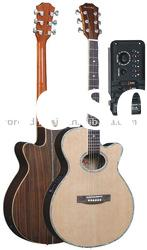 "40"" acoustic guitar with 4-band tuner EQ W-024YDC"