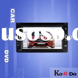 6.2 inch car GPS+DVD+Bluetooth system(DVB-T,touch screen)