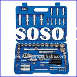 94-Piece 1/4-inch and 1/2-inch Metric Socket Wrench Set With Blow Case