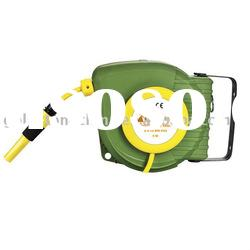 9M 8X12mm PVC Retractable Garden Water Hose Reel (CE)