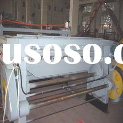 ABS billboard plastic plate extrusion machine
