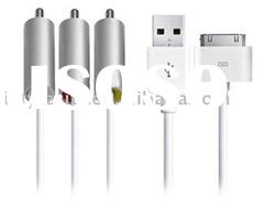 AV Cable with USB Connector for Apple iPad, for iPhone 4, for 3G3GS & All iPod