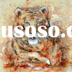 Abstract animal oil painting(art painting)
