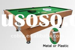 Automatic ball return system classic billiard table