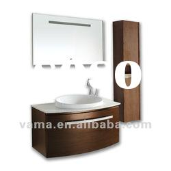 Bathroom mirror cabinet with light V-17029