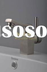 Brushed Nickel Bathroom Faucet Basin Mixer Tap,Grifo QH1803S