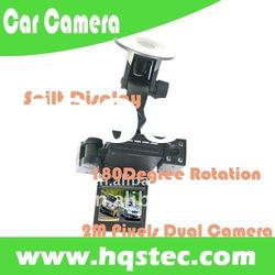 Car Black Box Recorder 2M Pixels Dual Camera