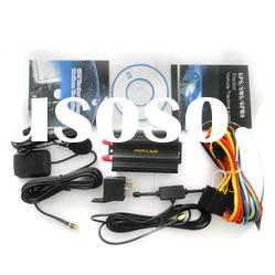 Car vehicle GPS Tracking system with External GPS, GSM Antennas