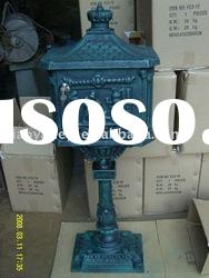 Cast Iron mail box, metal mail box