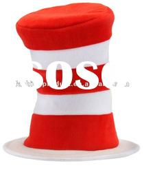 Cat in the Hat Deluxe Adult Costume Hat Dr. Seuss NEW