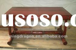 Chinese antique furniture red pine wood Table