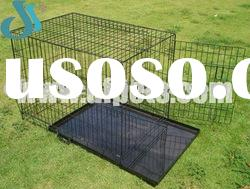 Collapsible Metal Cages With Plastic Tray