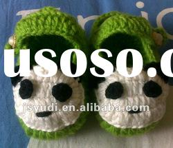 Cute animal crochet baby shoes