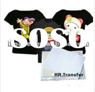 Dark T-shirt Heat transfer paper (Professional) for Dark T-shirt Fabric