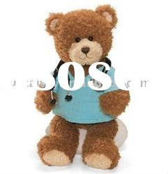 Doctor teddy bear plush toy