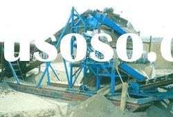 Dry magnetic separator for iron sand