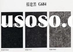 G684 Granite, Black Basalt Slab