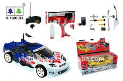 GT 1:10 gas powered rc car toy with tools kit