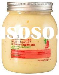 Ginseng Hair treatment mask -1000ml, 500ml (hairdressing products, hair repairing, hair oil)
