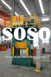 H frame type metal forging hydraulic press machine 250tons for fire equipment products