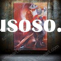 Handmade high quality oil painting of Tango modern dance PE-49