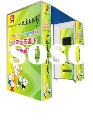 Hot sales self service 3d digital photo kiosk photo booth for amusement