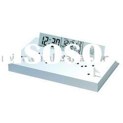LCD world time clock, digital table clock, world time