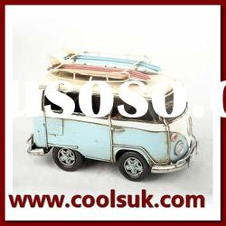 Metal Car Model/Classic Car Model/Surfboards Bus Model/Home Decoration/Antique Car Collection