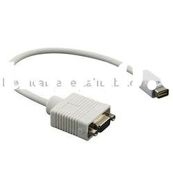 Mini DVI to VGA Monitor Adapter Video Cable