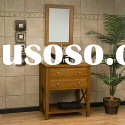 Modern 30 inch tall bamboo vanity bathroom cabinet with bamboo top(JZB3004)