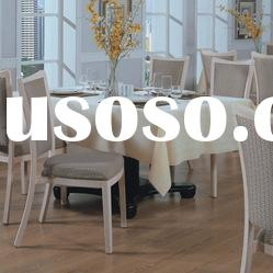 Modern stackable aluminium upholstered restaurant tables and chairs TLN-PA2090