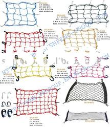 Motorcycle Luggage Net (luggage net,cargo net,trailer net,elastic net)