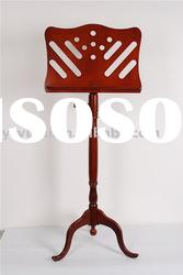 PJZ004 bend foot wooden music stand