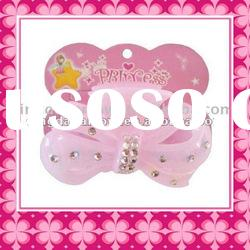 Pink Plastic Hair Accessories/ Plastic Hairpin