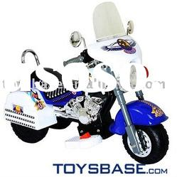 Police battery operated toy motorcycle